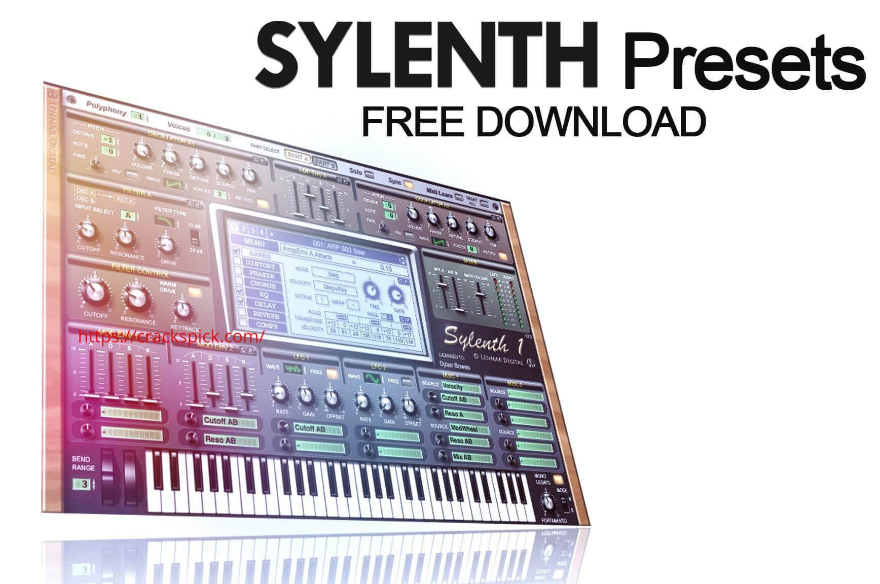 Sylenth1 VST Crack + Torrent Free Download Cover