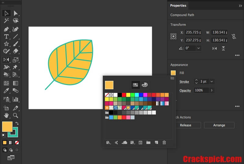 Adobe Illustrator Keygen With Crack CS6 Version Download Free