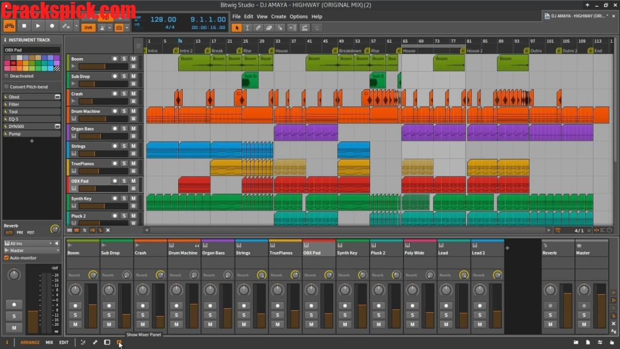 Bitwig Studio Crack 3.2.8 With Activation Key Download Free