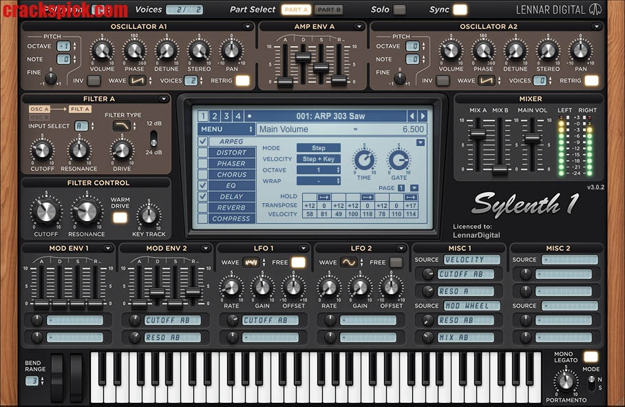 Sylenth1 Crack With License Code & Keygen Free Download Latest