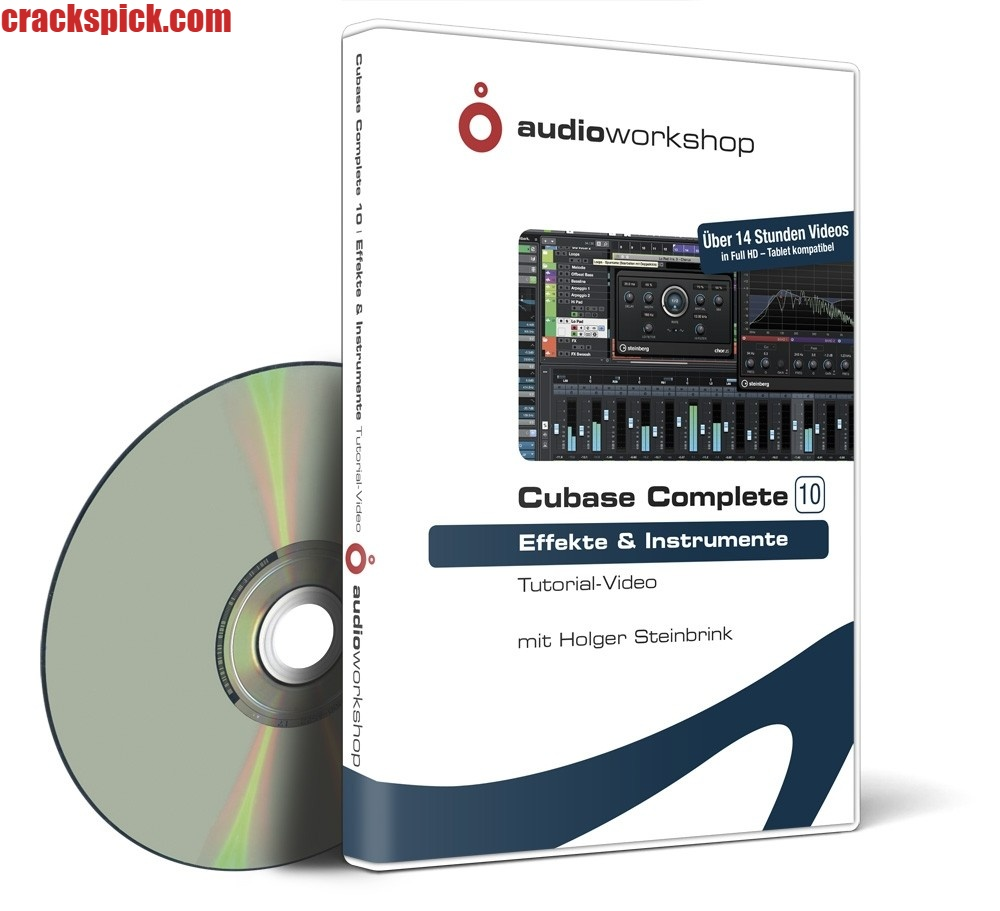 Cubase Crack + Serial Key Full Download Latest Version Free