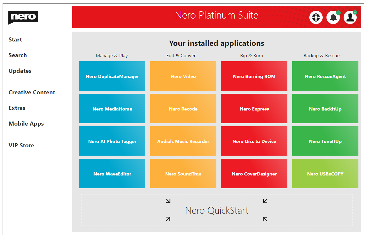 Nero Platinum Suite Crack Key Free Download