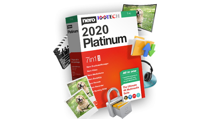 Nero Platinum Suite Crack 2021 v23.0.1010 Free Full Download
