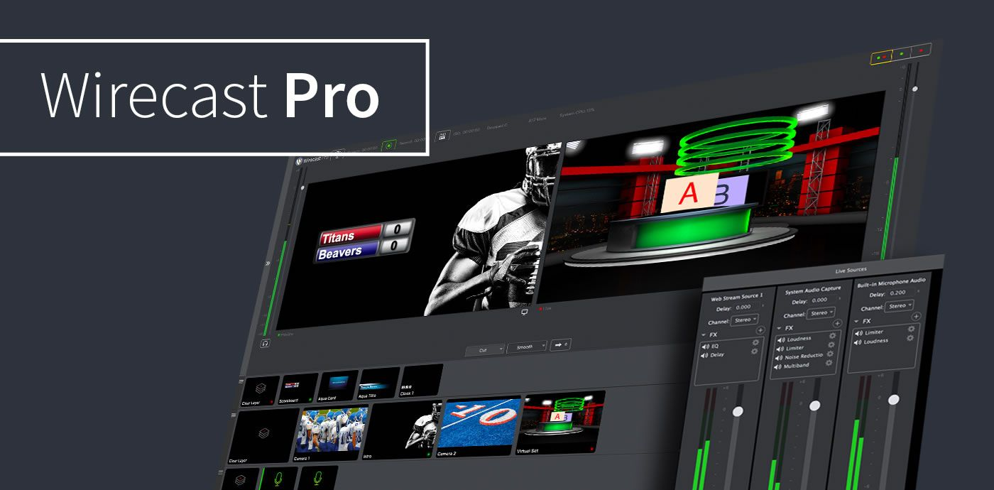Wirecast Pro 14.1.1 Crack Free License Key Download