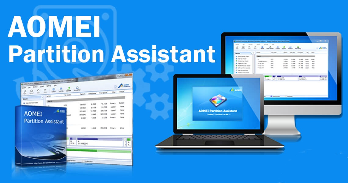 AOMEI Partition Assistant 9.1 Crack Free Key Download